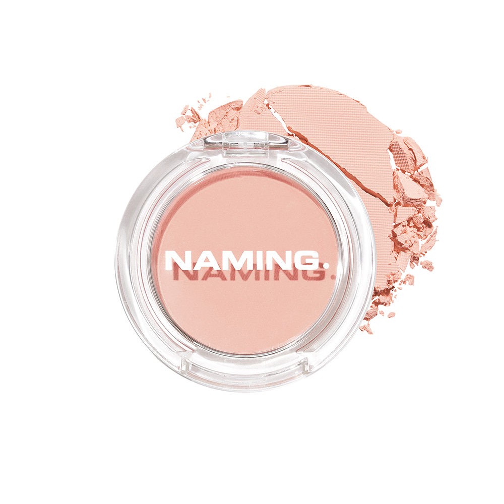 NAMING Fluffy Powder Blush (CRO01 BASHFUL)