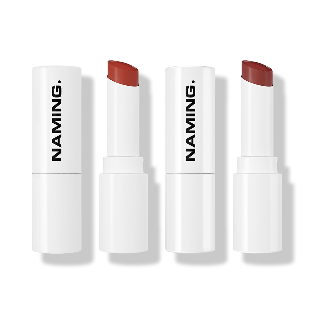 NAMING Soft Matt & Melting Glow Lipstick KIT