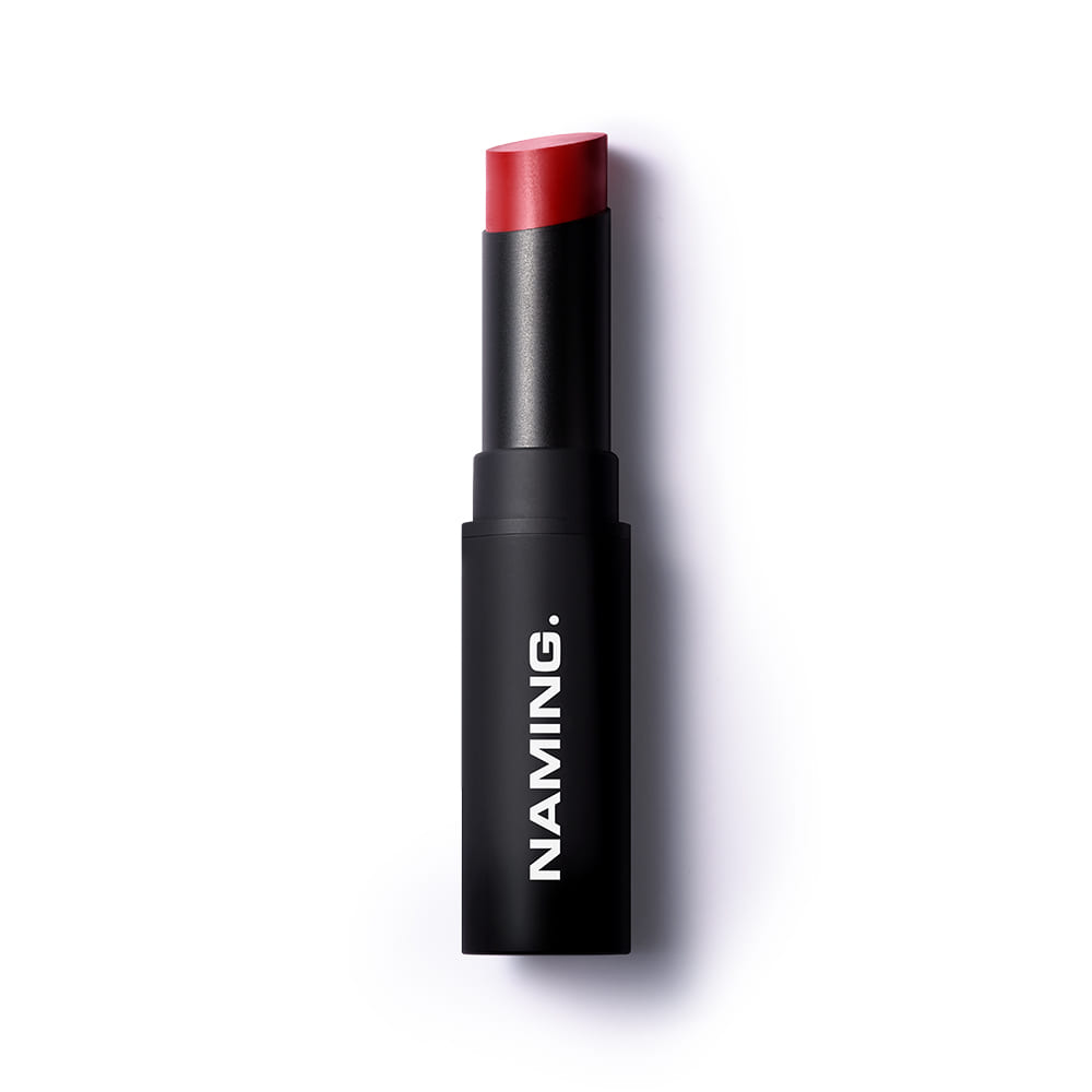 NAMING Smudge Semi-matt Lipstick (RDW01 CHEERFUL)