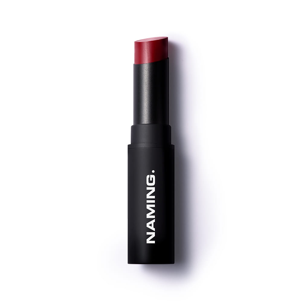 NAMING Smudge Semi-matt Lipstick (RDC01 FORCEFUL)