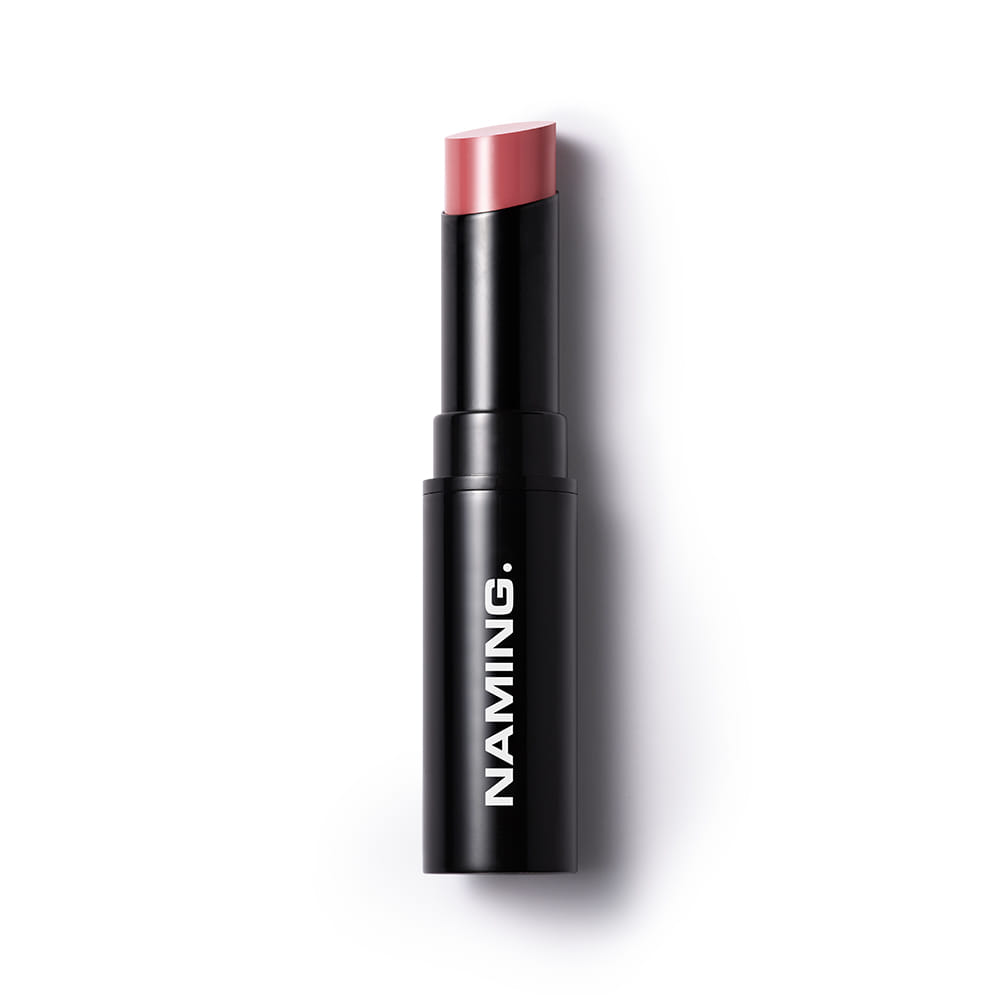 NAMING Plumping Glow Lipstick (PKB01 SNOOTY)