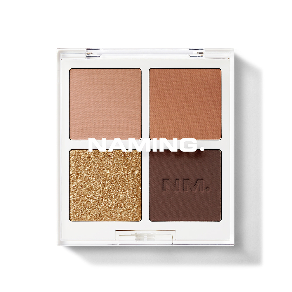 NAMING Color-quartet Eye Palette(Perfect baked)