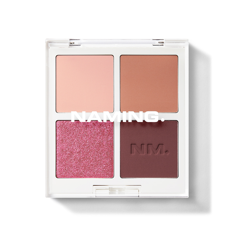 NAMING Color-quartet Eye Palette(Touch)