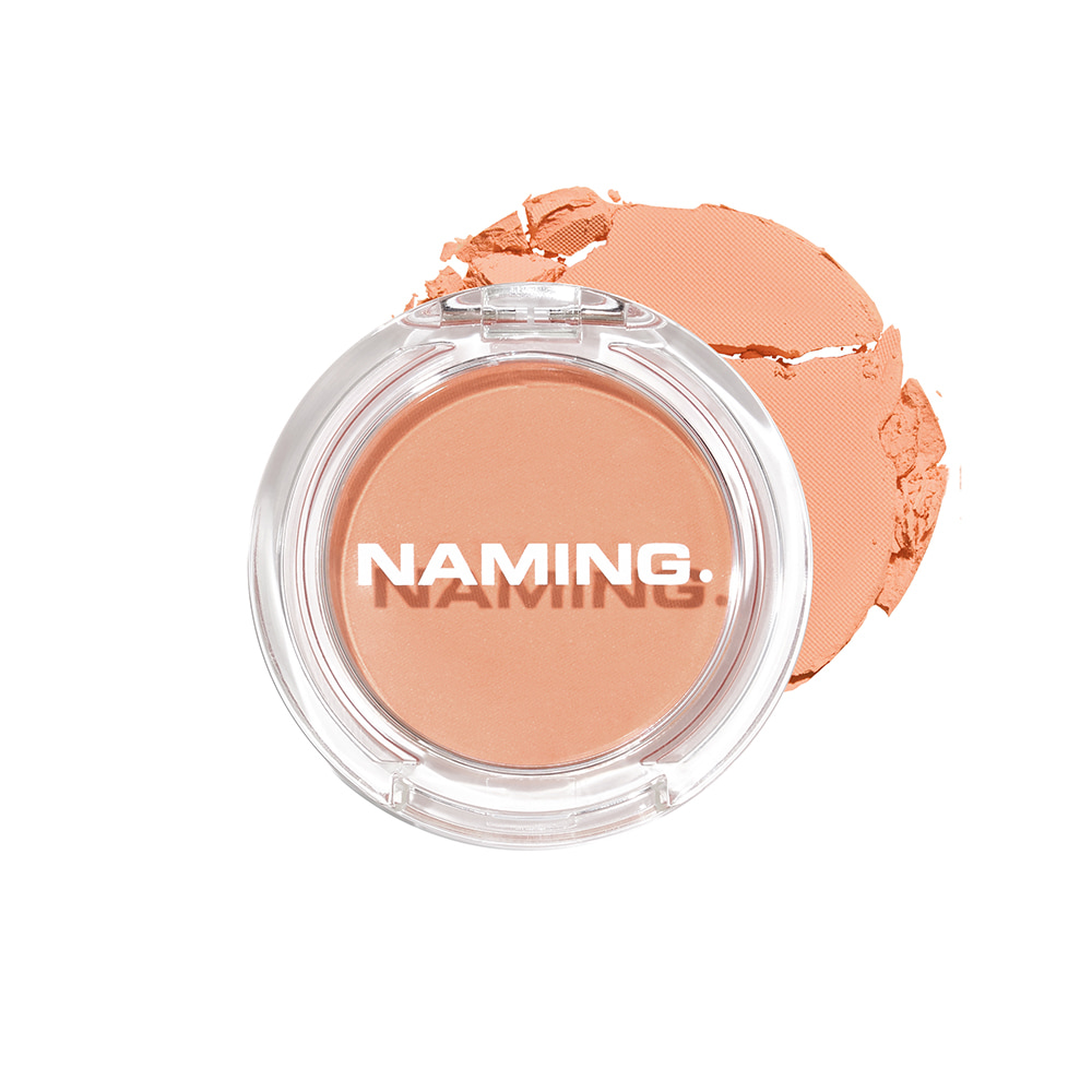 NAMING Fluffy Powder Blush (ORR01 CUDDLY)