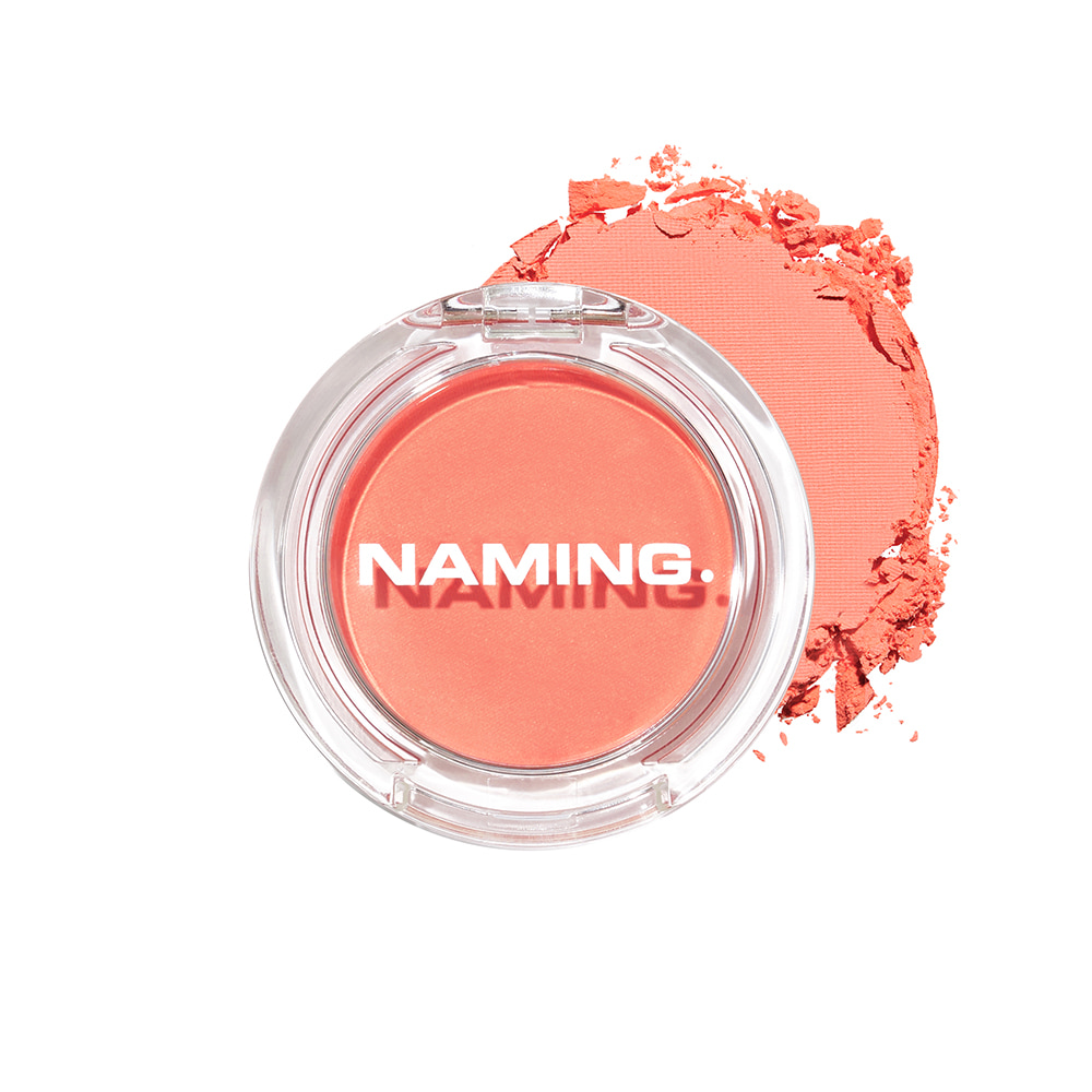 NAMING Fluffy Powder Blush (CRR01 PERKY)