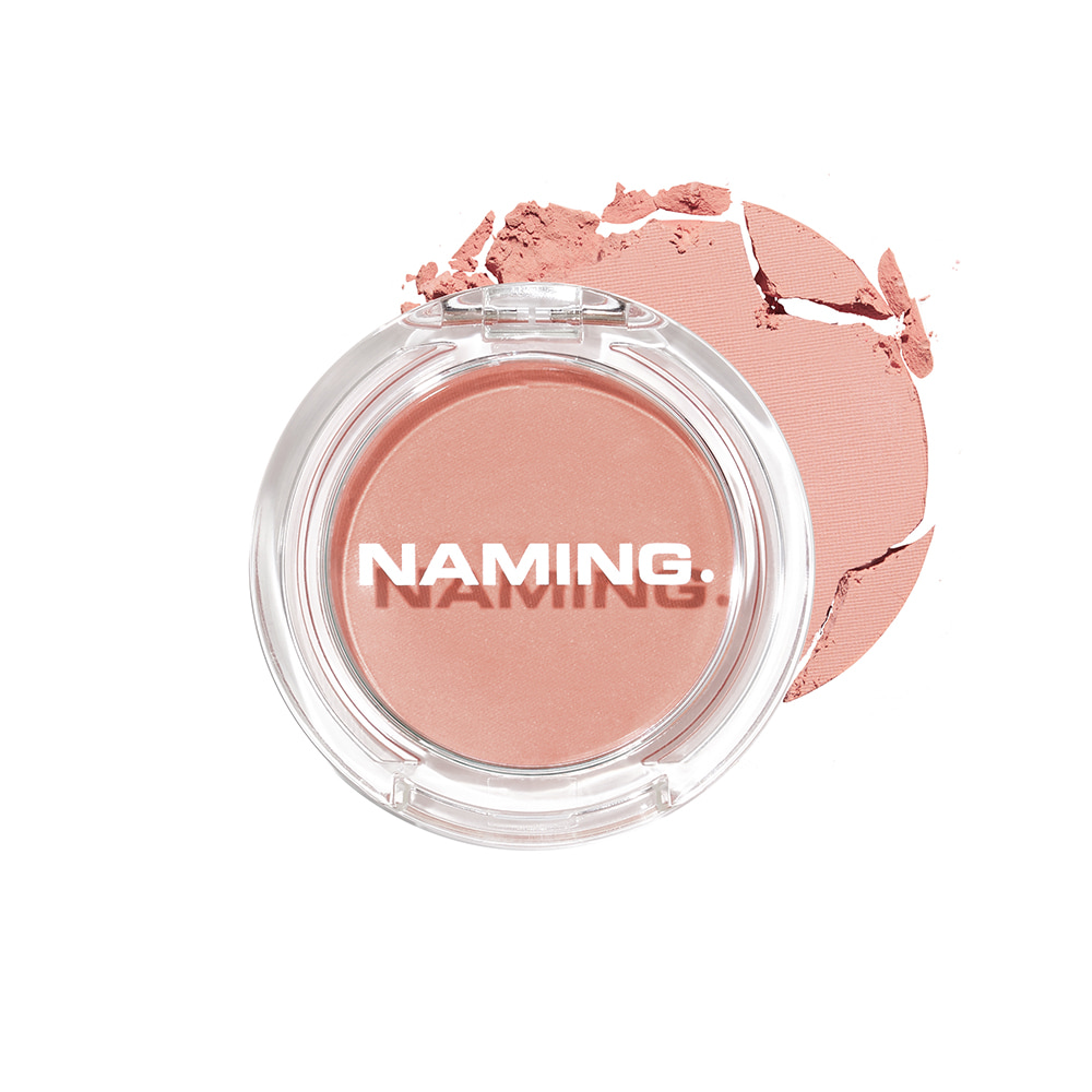 NAMING Fluffy Powder Blush (PKS01 HALO)