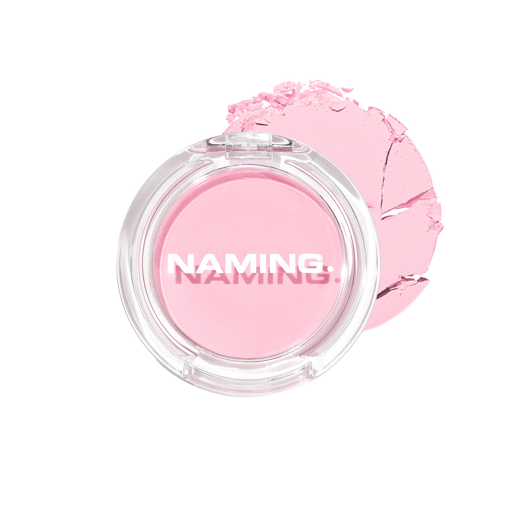 NAMING Fluffy Powder Blush (PKR01 YUMMY)